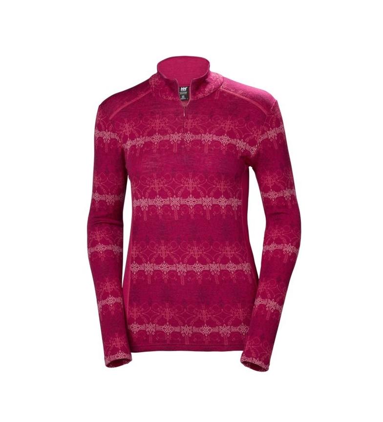 Comprar Helly Hansen T-shirt thermique W HH Merino MID Graphic 1/2 ZI fuchsia thermique