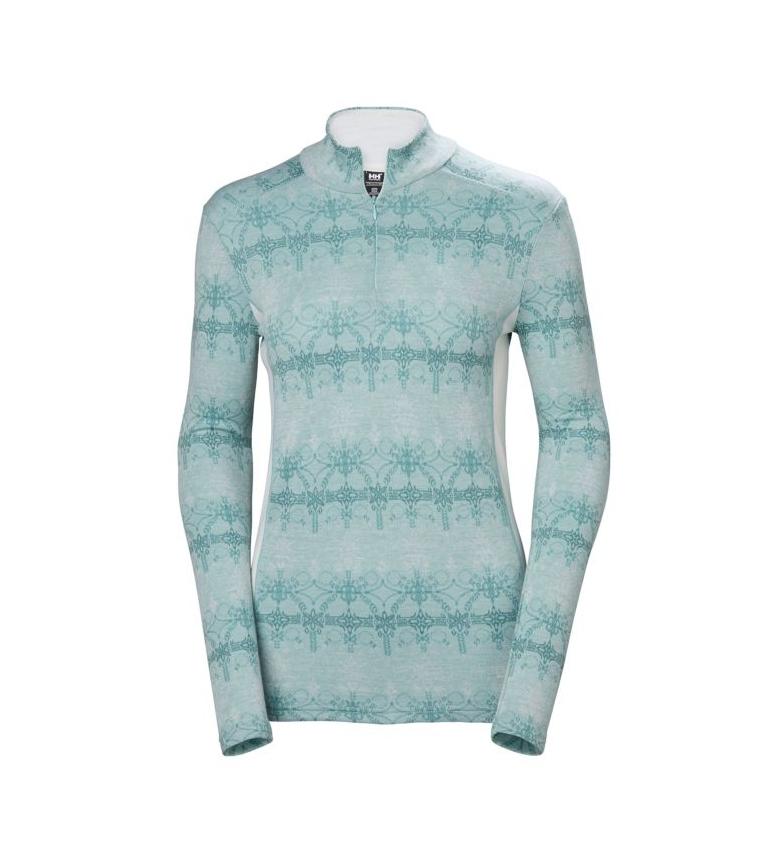 Comprar Helly Hansen Maglietta termica W HH Merino MID Graphic 1/2 ZI azzurro chiaro