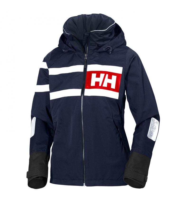 Comprar Helly Hansen W Salt Power Jaqueta Marinha -Helly Tech® Proteção