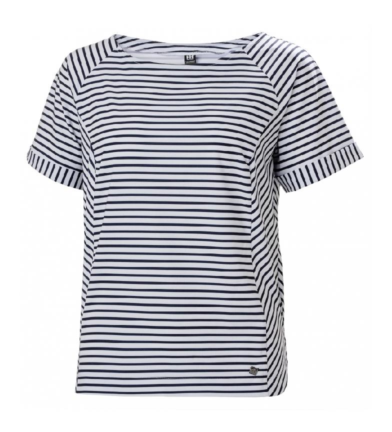 Helly Hansen T-shirt blu navy W Thalia, bianca