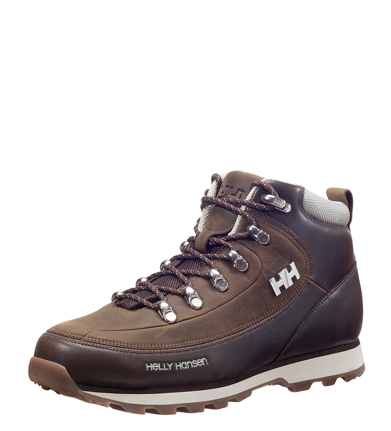 b piel Helly marrón b Hansen Botas de The W Forester 8wAq6R1