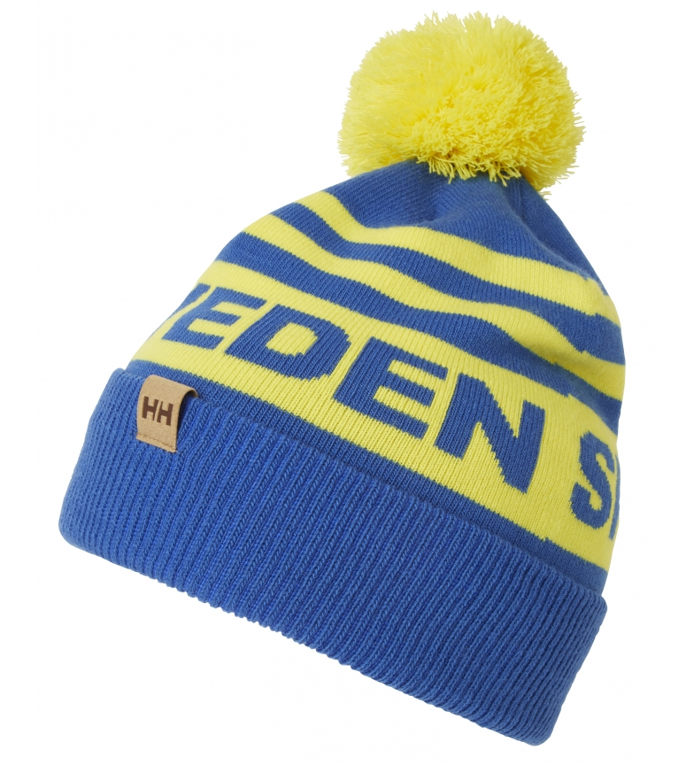 Comprar Helly Hansen Going For Gold hat and glove set blue, yellow
