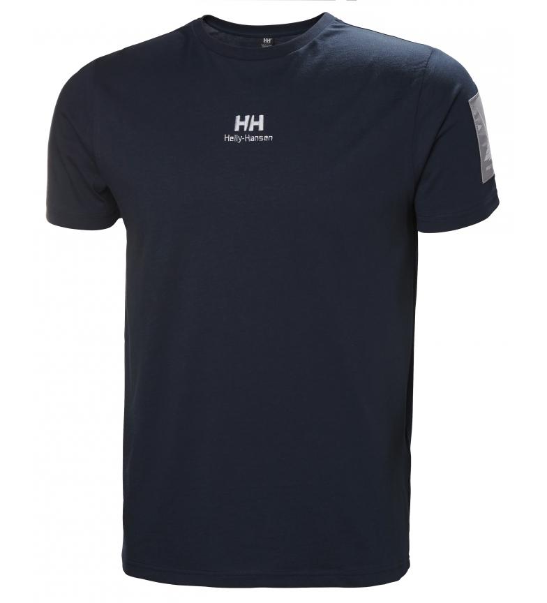 Comprar Helly Hansen Camiseta Yu Twin Logo Marine