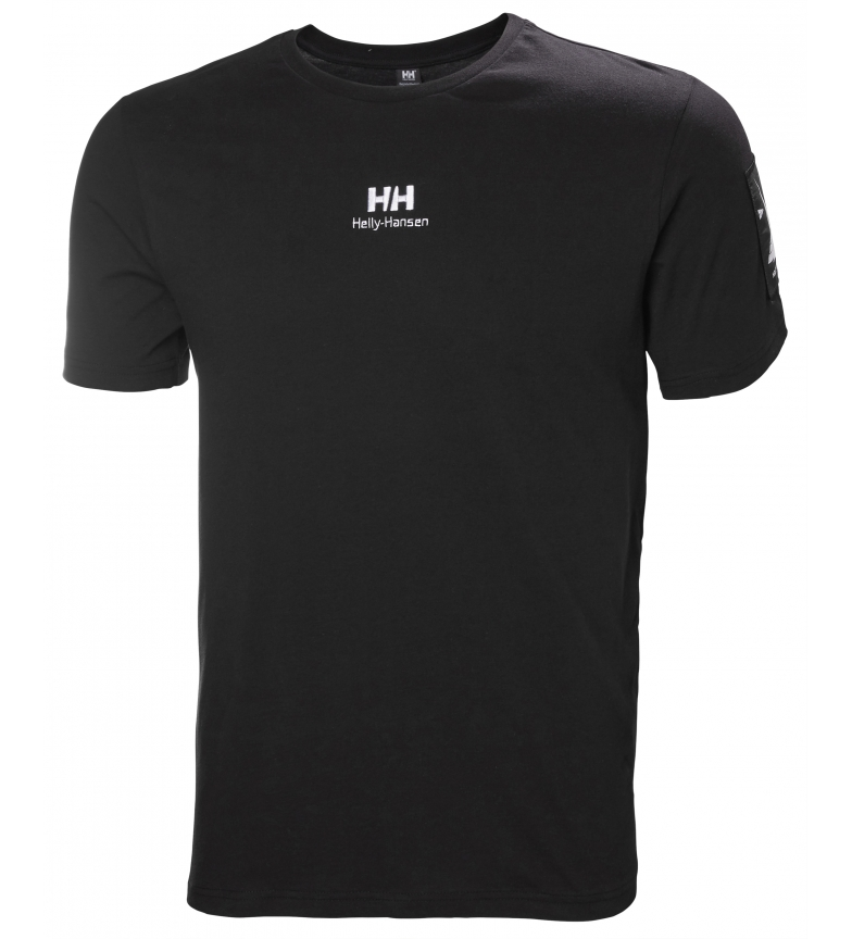 Comprar Helly Hansen Camiseta Yu Twin Logo negro