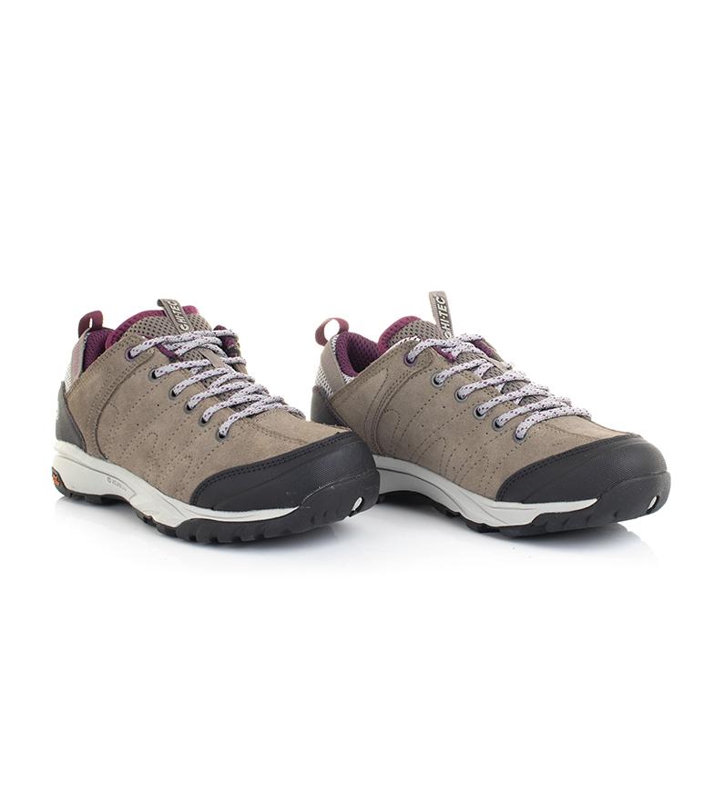 Hi-tec-Zapatillas-de-trekking-Tortola-Trail-gris-345g-Dri-Tec-Mujer-chica miniatura 10