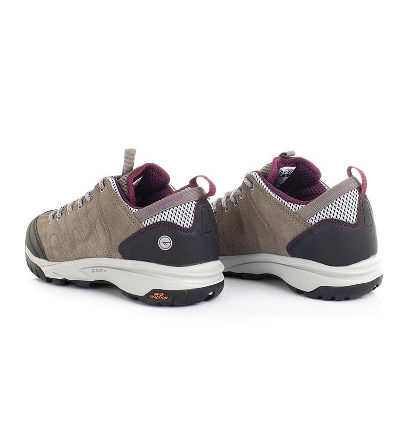 Hi-tec-Zapatillas-de-trekking-Tortola-Trail-gris-345g-Dri-Tec-Mujer-chica miniatura 11