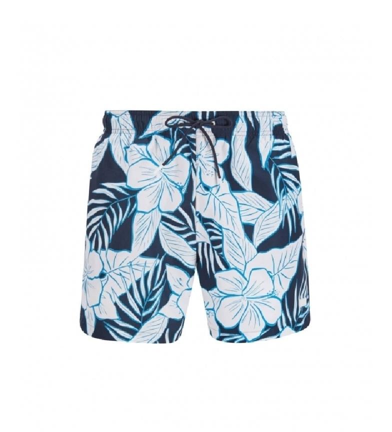 Comprar Hugo Boss Quick Dry Swimsuit with Marine Palm Leaf Print