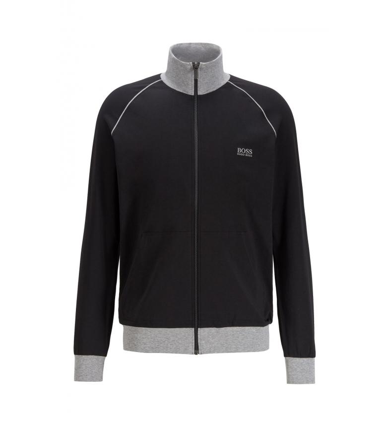 Hugo Boss Chaqueta Loungewear Regular Fit Mix&Match; Z negro