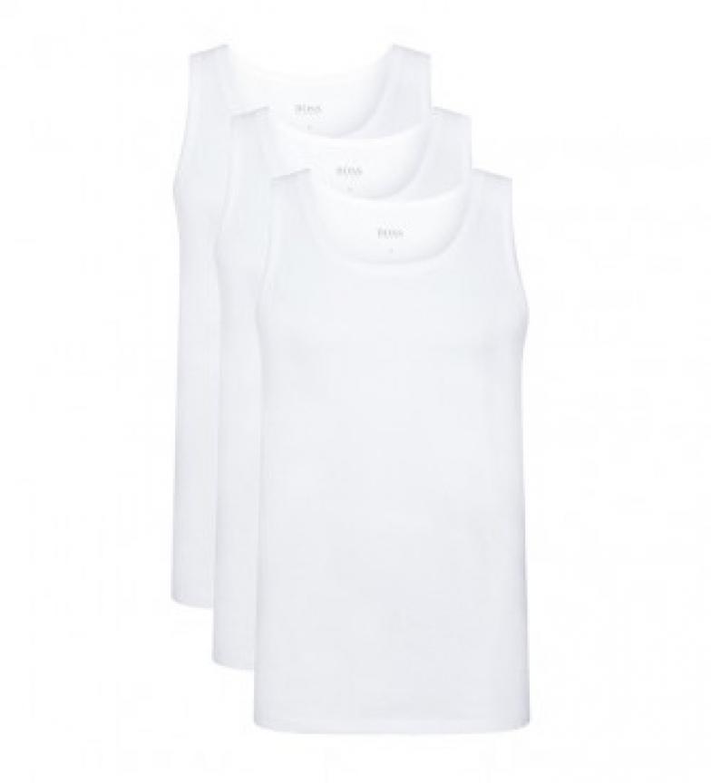 Comprar Hugo Boss Lot de 3 T-shirts sans manchesTank Top 10145963 01 blanc