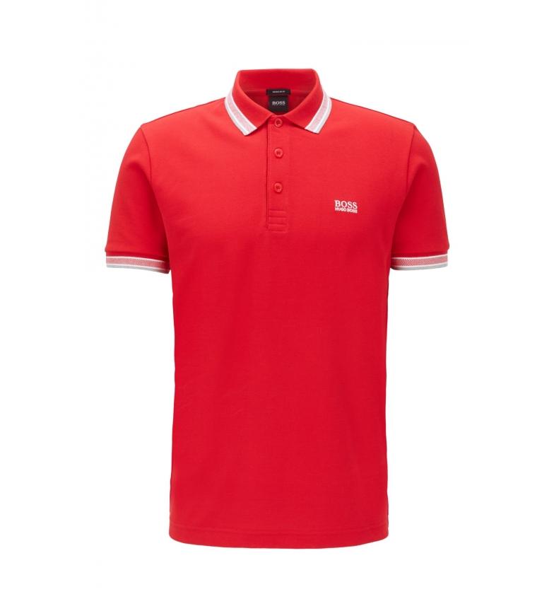 Comprar Hugo Boss Polo piqué 10102943 01 rojo