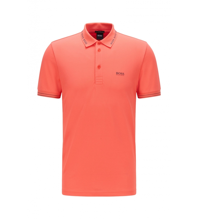 Comprar Hugo Boss Slim Fit Polo with Logo on Collar Paule coral