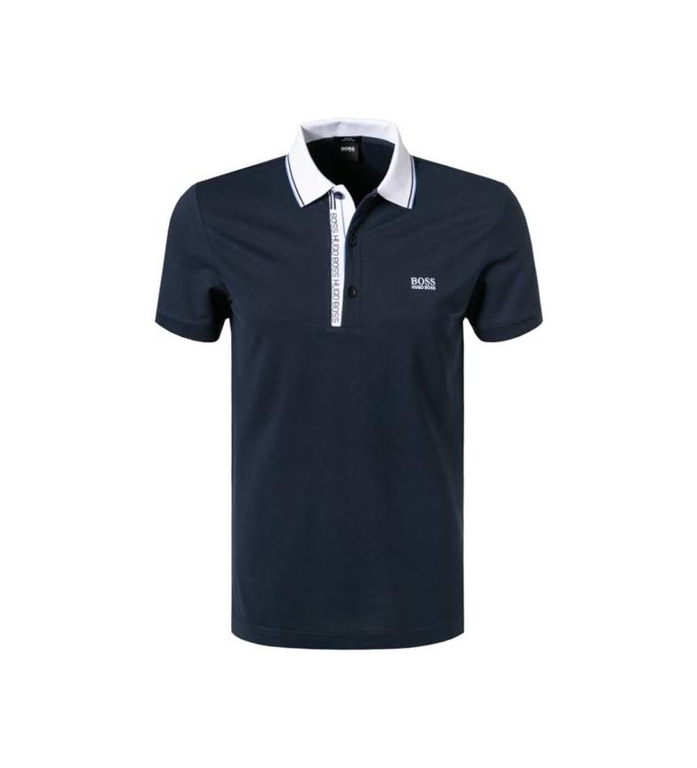 Hugo Boss Polo Slim Fit Paule 4 Marinha