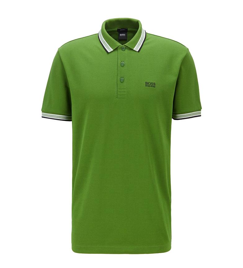 Comprar Hugo Boss Paddy green polo shirt