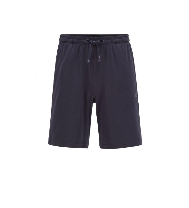 Comprar Hugo Boss Pantaloncini da casa in cotone da abbinare; nero