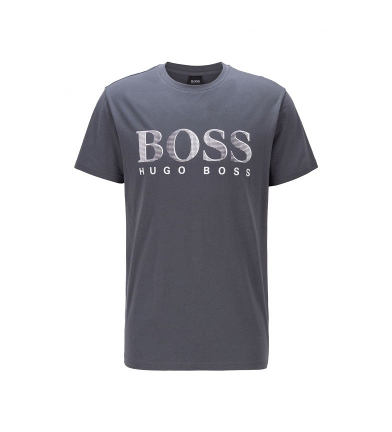 Comprar Hugo Boss T-shirt in cotone Relaxed Fit grigio scuro