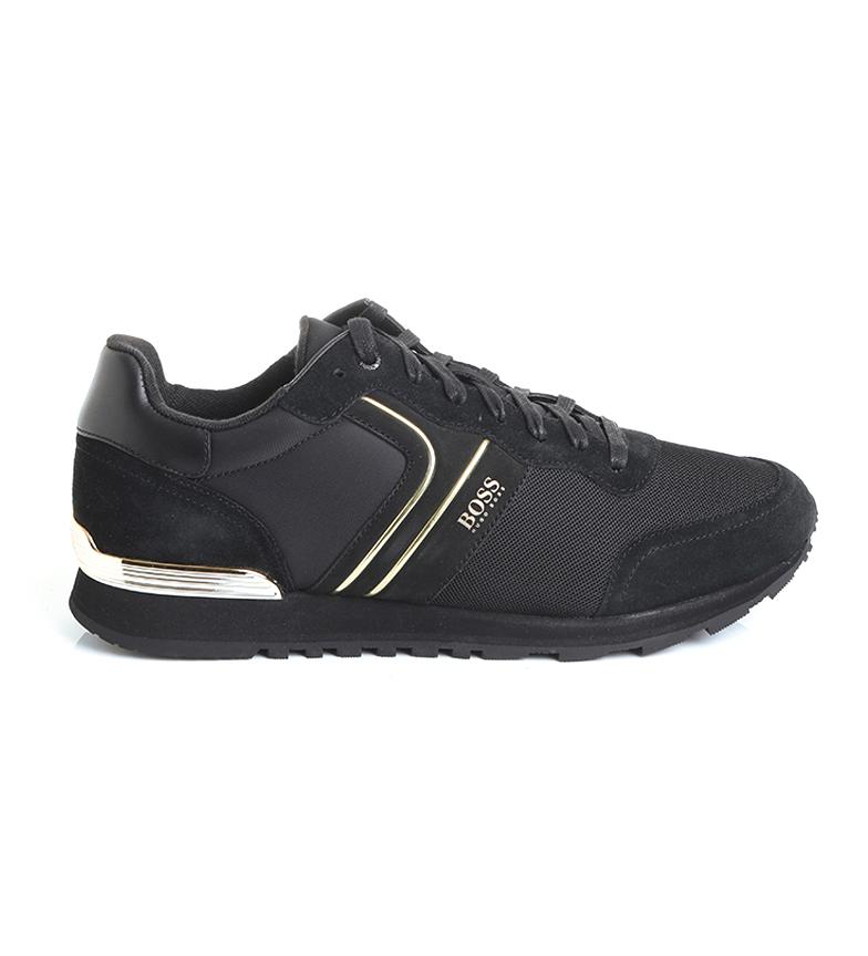 Comprar Hugo Boss Zapatillas de piel Parkour Runn negro