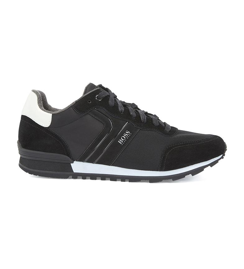 Comprar Hugo Boss Parkour Runn nymx2 leather shoes black