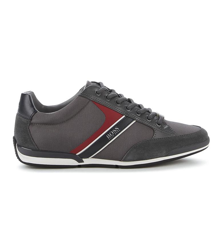 Comprar Hugo Boss Chaussures Saturn Lowp mx gris foncé