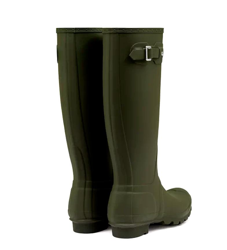 Hunter-Stivali-ad-acqua-The-Original-Donna-Rosso-Verde-Nero-Blu-Basso-1-a-3-cm