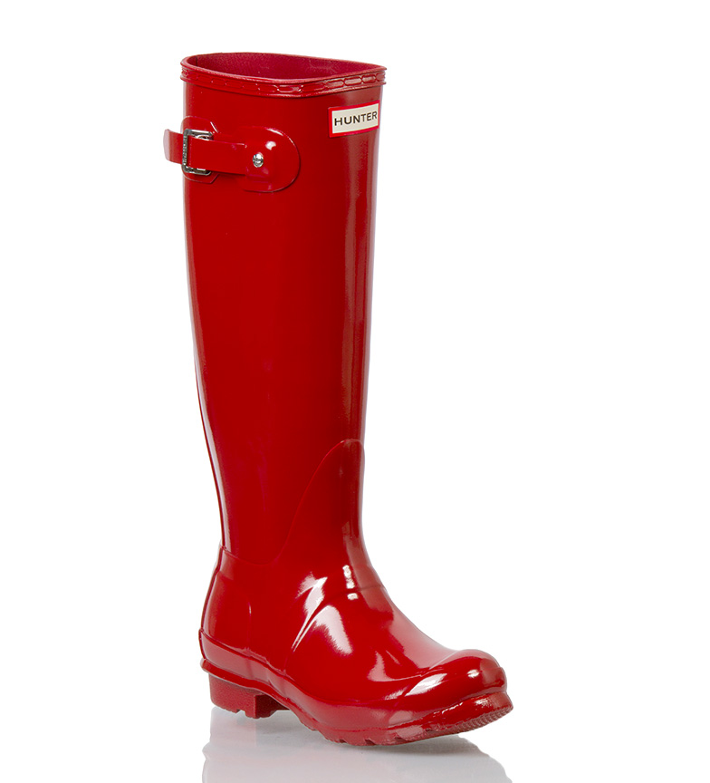 Comprar Hunter Botas de Agua The Original red gloss
