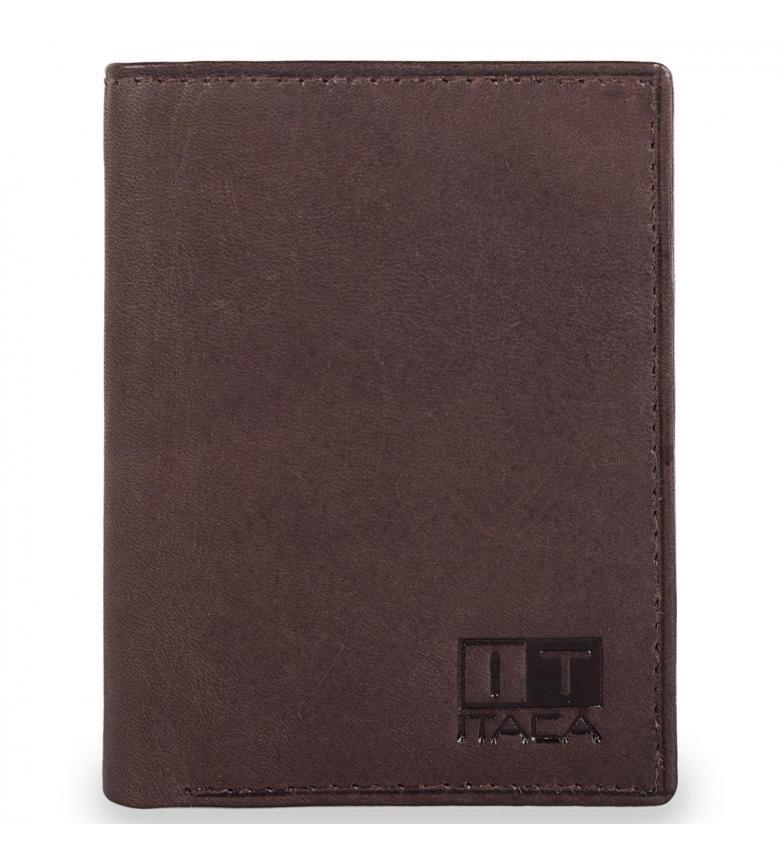 Comprar ITACA Cartera Billetero de piel hombre Itaca 37900 color marron
