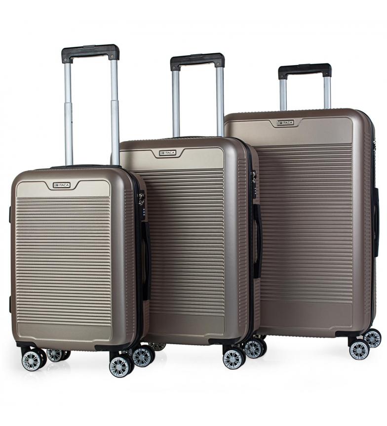 Comprar ITACA Mallette de voyage à 4 roues T72000 or -55x38x20cm