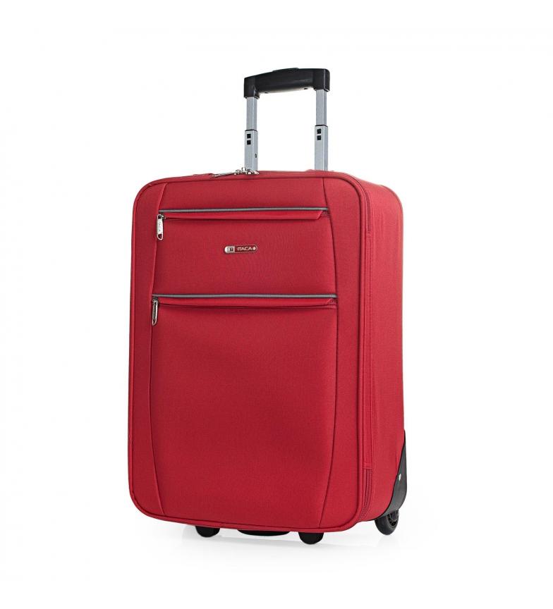 ITACA Travel Cabin 2 Wheeled Suitcase T71950 red -55x39x18cm
