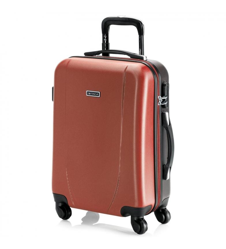 Comprar ITACA Coral 4 Wheelled Trolley Case 71150 Short Travel Cabin, anthracite -55x38x20cm