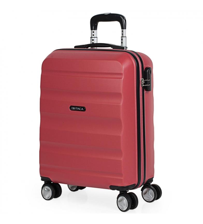 Comprar ITACA ABS Trolley Cabin Cabin Travel Case T71650 corallo -55x40x20cm