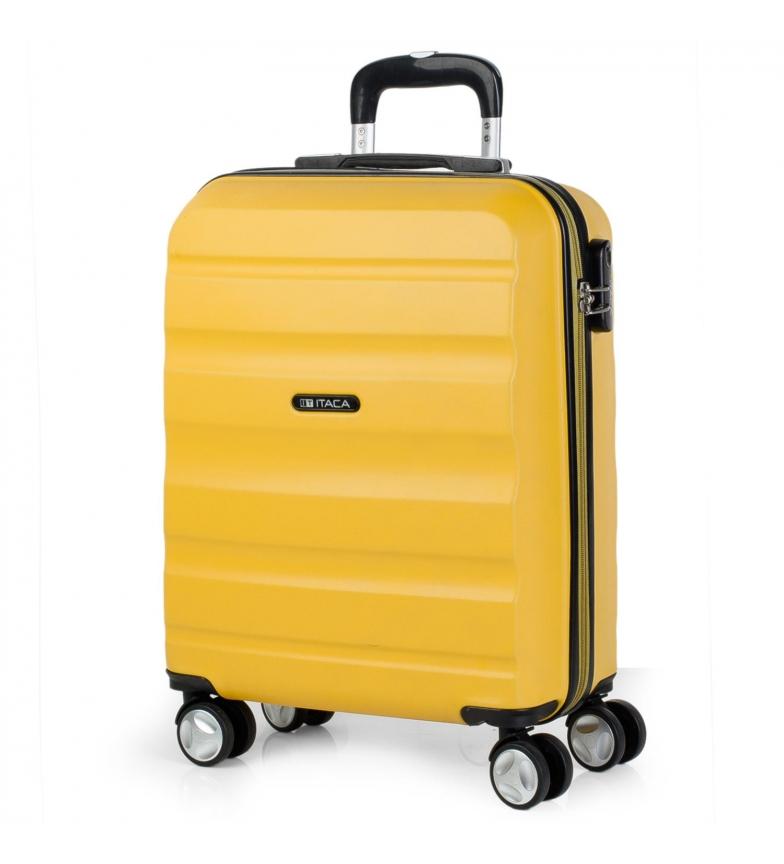 Comprar ITACA Valigia da viaggio Cabina Trolley ABS T71650 senape -55x40x20cm