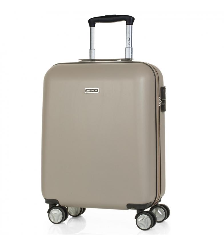 Comprar ITACA Maleta de Viaje Cabina de  4 Ruedas T58050 champagne -55x40x20cm-