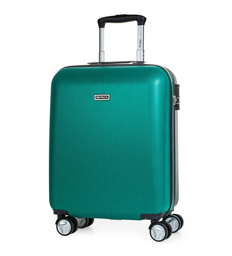 Comprar ITACA Valigia da viaggio 4 ruote cabina T58050 smeraldo -55x40x20cm