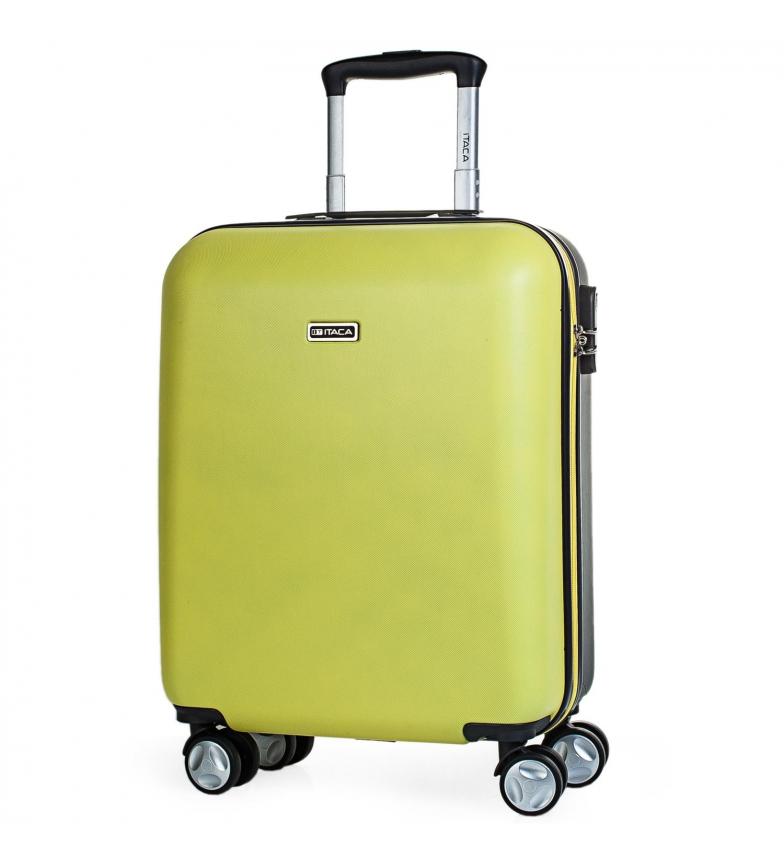 Comprar ITACA Valigia da viaggio 4 ruote cabina T58050 giallo -55x40x20cm