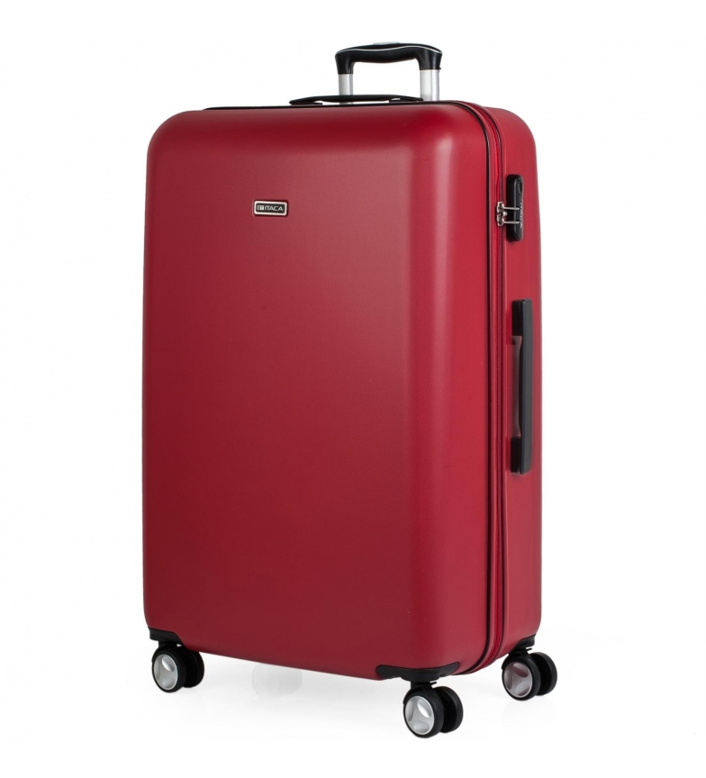 Comprar ITACA Borsa da viaggio grande XL Trolley T58070 rosso -76x48x29cm