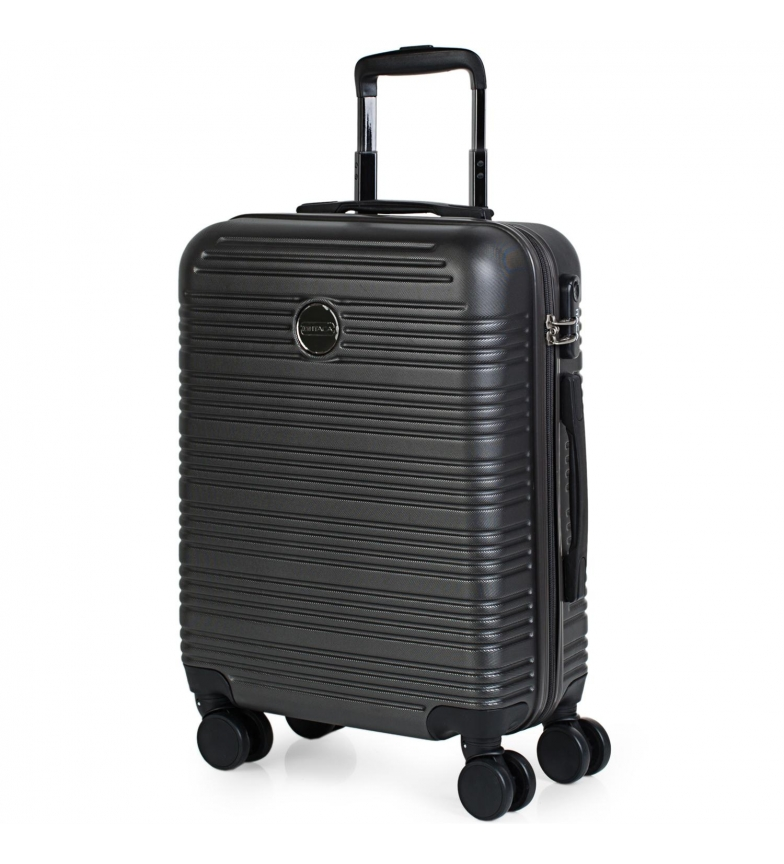 Comprar ITACA Valigia da viaggio a 4 ruote rigide per cabina T72150 antracite -55x40x20cm