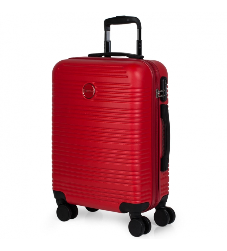 Comprar ITACA Valigia da viaggio a 4 ruote rigide per cabina T72150 rosso -55x40x20cm