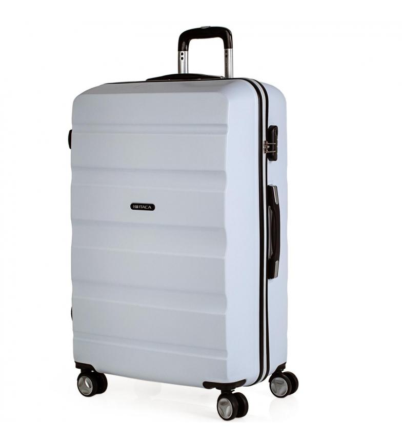 Comprar ITACA Valigia da viaggio 4 ruote grandi XL T71670 bianco -77x48x29cm