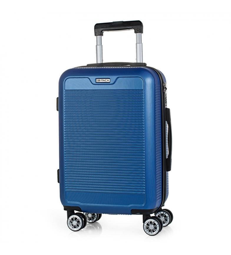 Comprar ITACA T72050 Mallette de voyage bleue à 4 roues -55x38x20cm