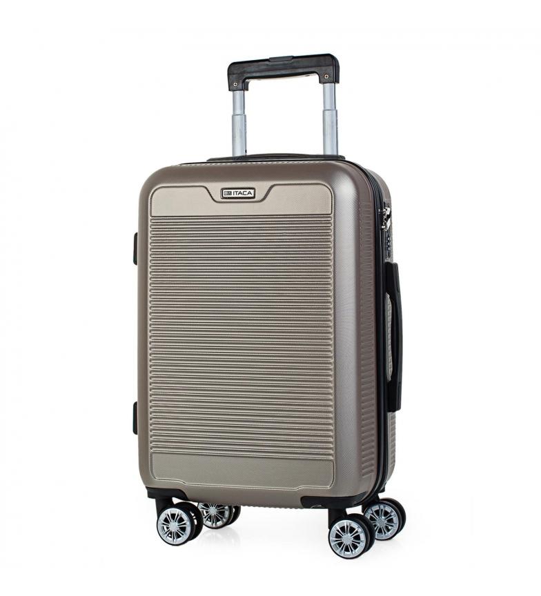 Comprar ITACA T72050 Custodia da viaggio a 4 ruote d'oro -55x38x20cm