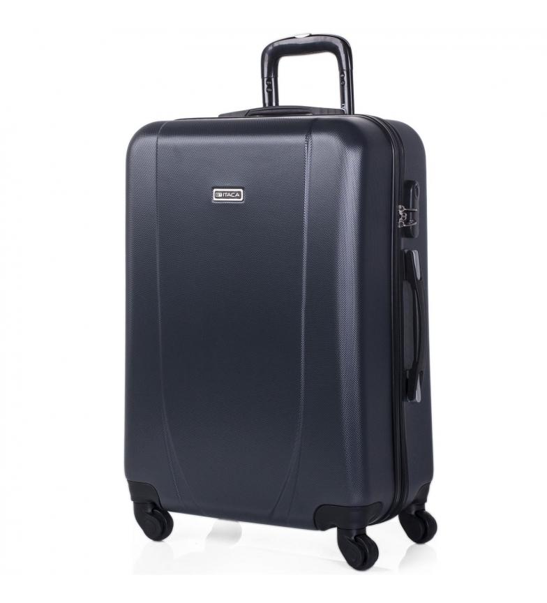 Comprar ITACA Estojo de viagem Estojo rígido de 4 rodas Média 71160 antracite -65x44x24cm