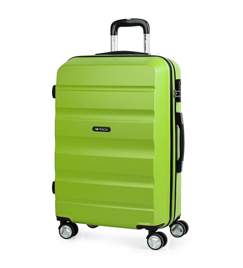 Comprar ITACA Valigia da viaggio Pistacchio 4 ruote T71660 -61x44x26cm