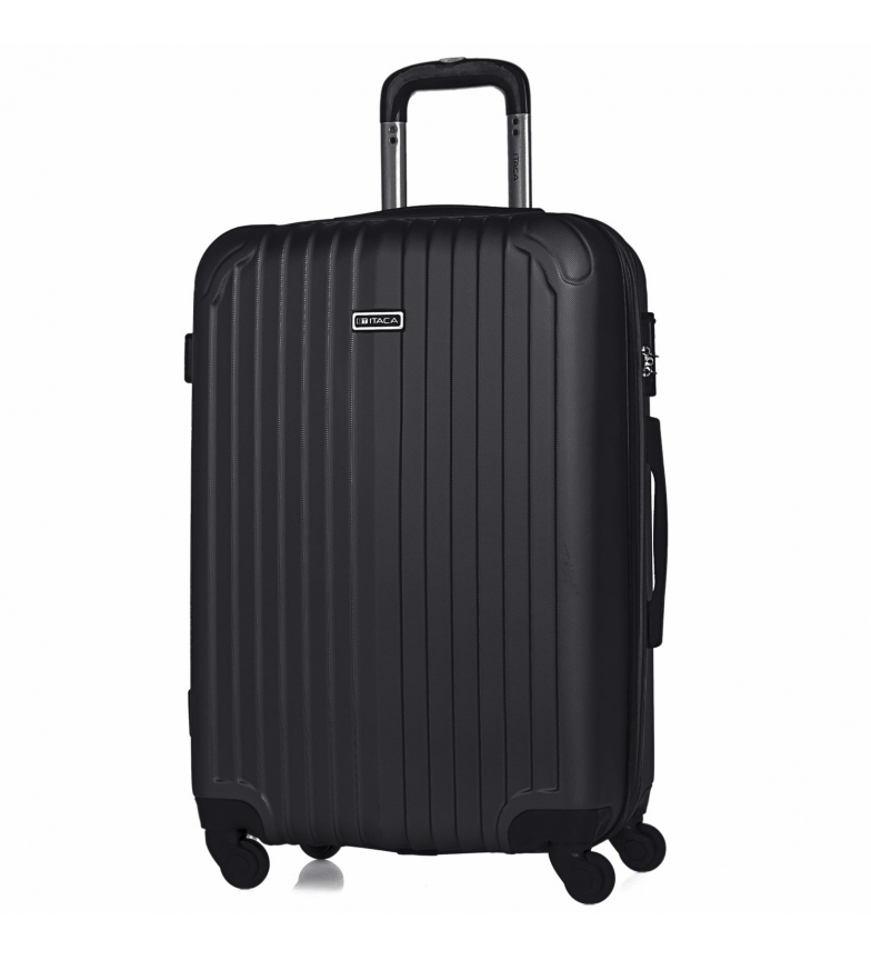 Comprar ITACA Valigia da viaggio rigida a 4 ruote medie T71560 antracite -66x41x27cm