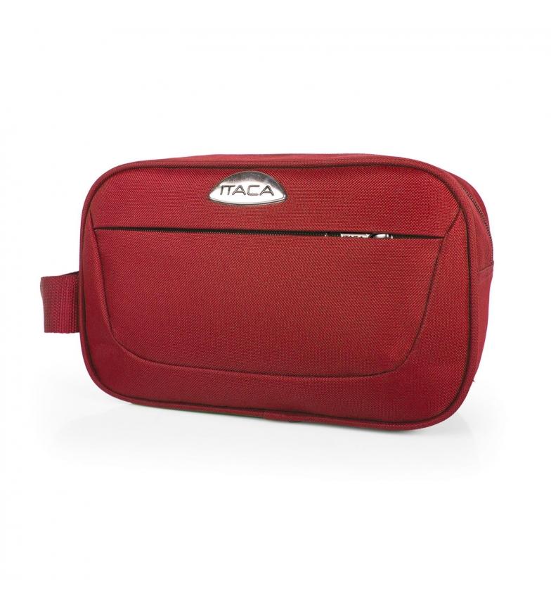 Comprar ITACA Saco de viagem vermelho -26x16x10 cm