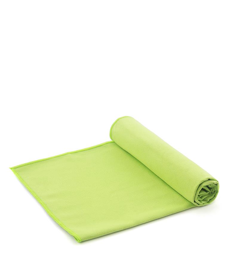 Comprar Izas Brema green microfiber towel -80x120cm-