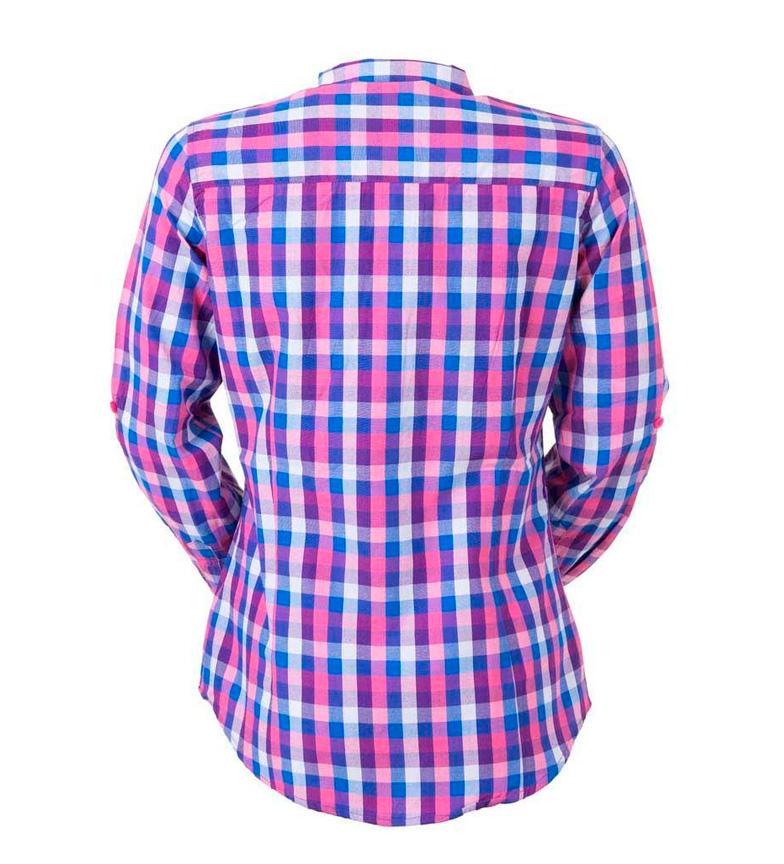 Izas Skjorte Vil Gjøre Fuchsia, Blå