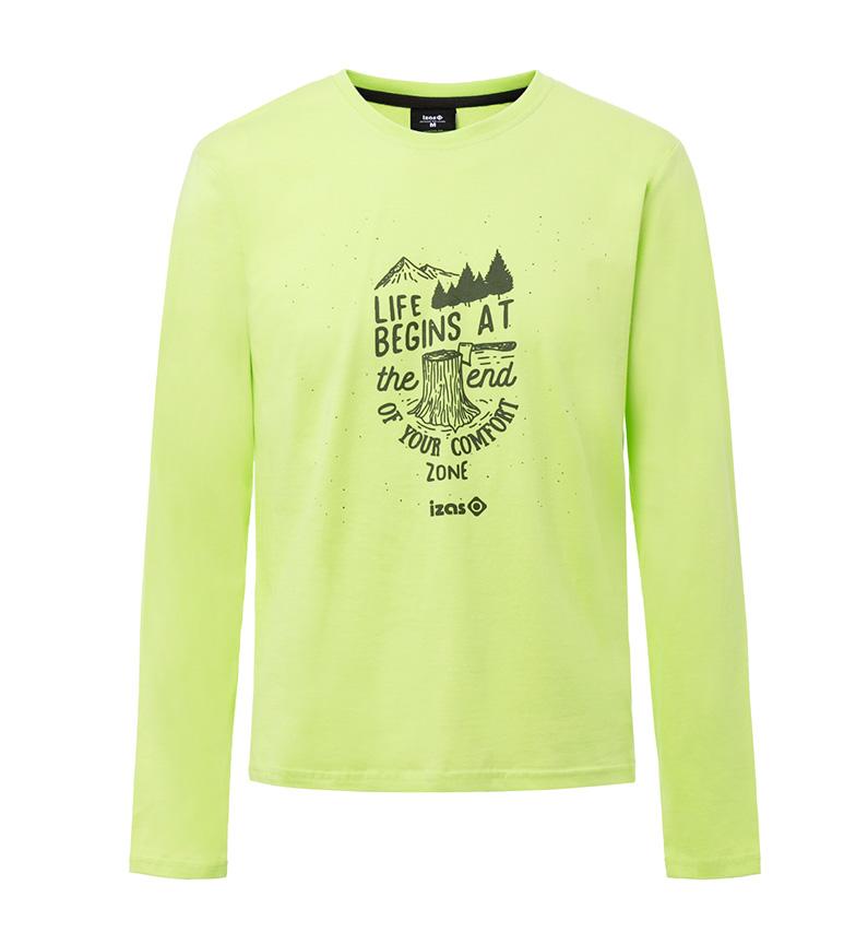 Izas Arosa Limegrønn Skjorte salg billig SeAfUR9