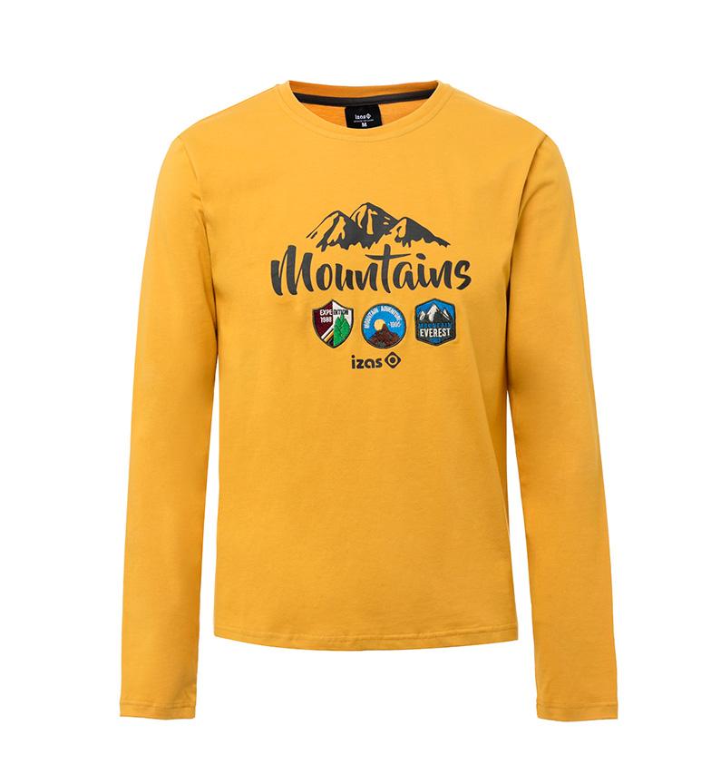 Izas Camiseta Devi mostaza
