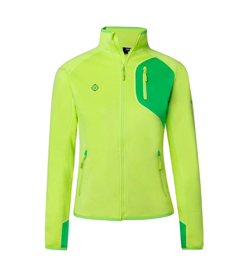 Comprar Izas Somka green stretch polar jacket