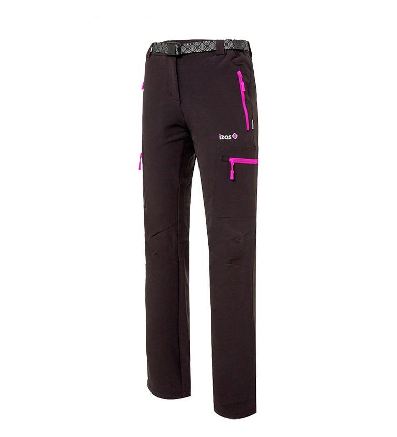 Comprar Izas Pantalón montaña Wengen negro, violeta