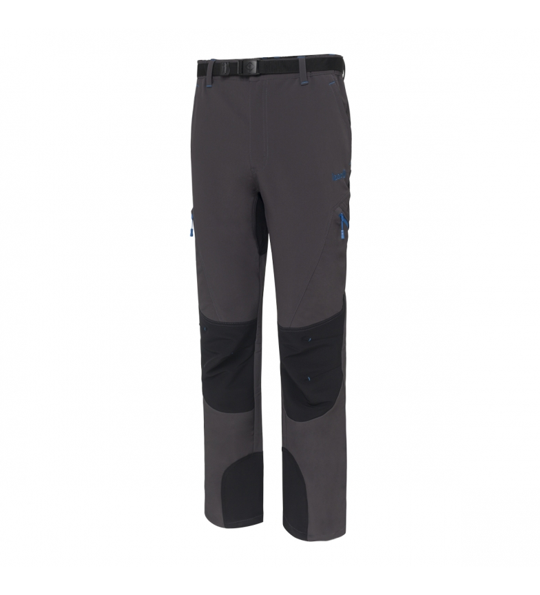 Comprar Izas Baltic pantaloni grigio scuro all'aperto, nero
